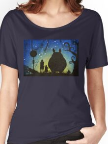 Small Spirits (Totoro) Women's Relaxed Fit T-Shirt