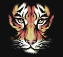 tiger t-shirt on dark by parko
