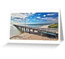 Seaford Pier Victoria, Mornington Peninsula, Australia, Seascape Greeting Card