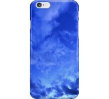 Cloudy Skies-Blue iPhone Case/Skin