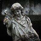 Worn down angel by Louise Delahunty