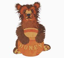 Honey Bear by evisionarts