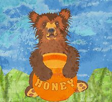 Honey Bear by evisionarts