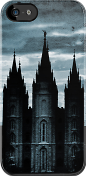 Salt Lake Temple, Dark Texture by Ryan Houston