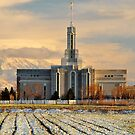 Mount Timpanogos, LDS Temple by Ryan Houston