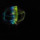Having Fun with Glowsticks by FrogGirl