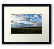 Oregon Roadside Framed Print