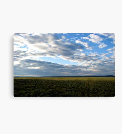 Oregon Roadside Canvas Print