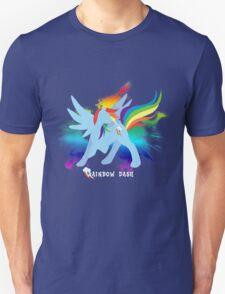 Rainbow Dash Silhoutette T-Shirt