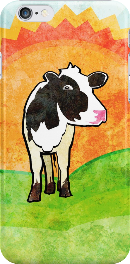 Dairy Cow by evisionarts