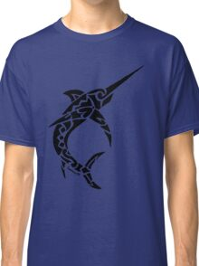 Swordfish Tribal Design  Classic T-Shirt