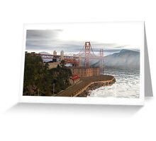 The Crossing At Fort Point Greeting Card