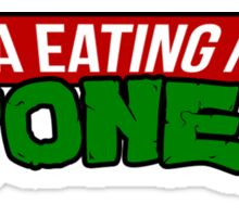 Pizza Eating Ninja Stoners Sticker