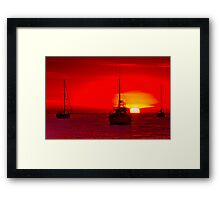 """Corio Morning"" Framed Print"