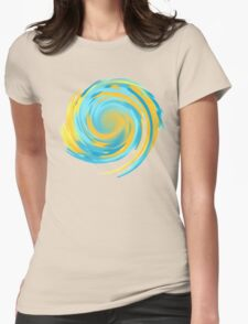 Thinking with Portals. Womens Fitted T-Shirt