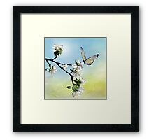 One Day ill Fly Away Framed Print
