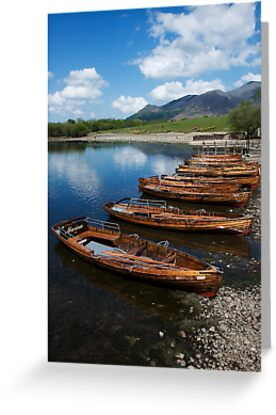 Derwent Water Boats by brianhardy247