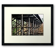 Where the Trolls Live Framed Print