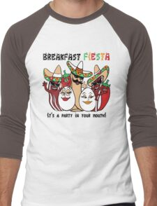 Breakfast Fiesta  Men's Baseball ¾ T-Shirt