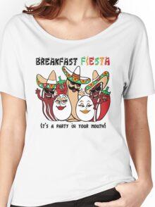 Breakfast Fiesta  Women's Relaxed Fit T-Shirt