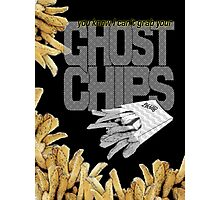 ghost chips Photographic Print