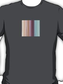 Sea-wreck striped Abstract design T-Shirt