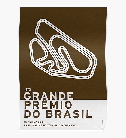 Legendary Races - 1973 Grande Premio do Brasil Poster