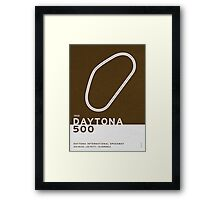 Legendary Races - 1959 Daytona 500 Framed Print