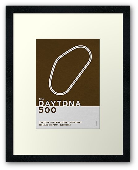Legendary Races - 1959 Daytona 500 by Chungkong