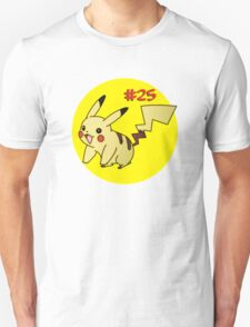 Pikachu Stylised Tee T-Shirt