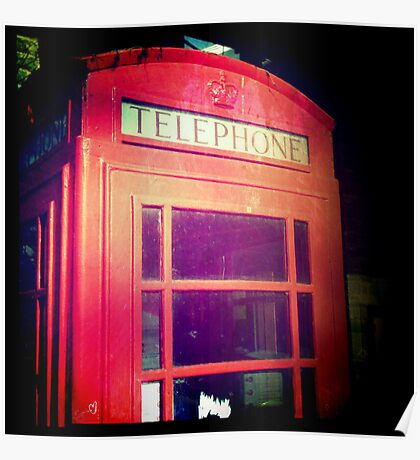 Cambridge Collection: Phone Box Poster