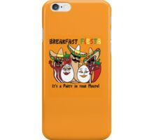Breakfast Fiesta 3 iPhone Case/Skin