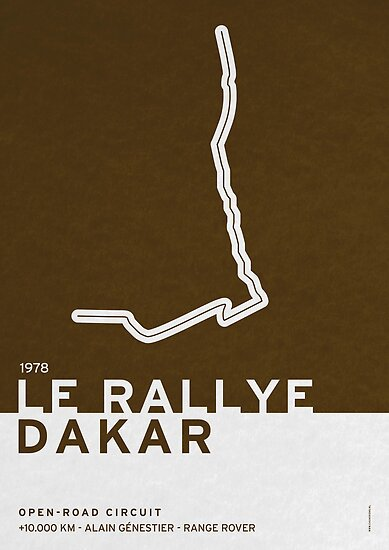 Legendary Races - 1978 Le rallye Dakar by Chungkong
