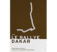 Legendary Races - 1978 Le rallye Dakar Photographic Print