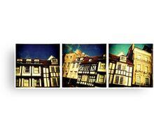Cambridge Collection: Shops Canvas Print