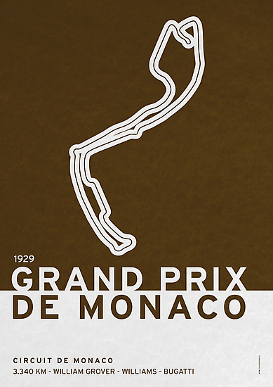 Legendary Races - 1929 Grand Prix de Monaco by Chungkong