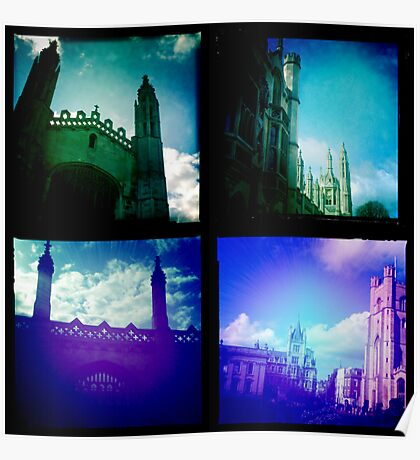 Cambridge Collection: Towers Poster