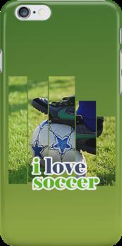 I Love Soccer by noeljerke