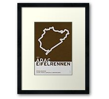 Legendary Races - 1927 Eifelrennen Framed Print