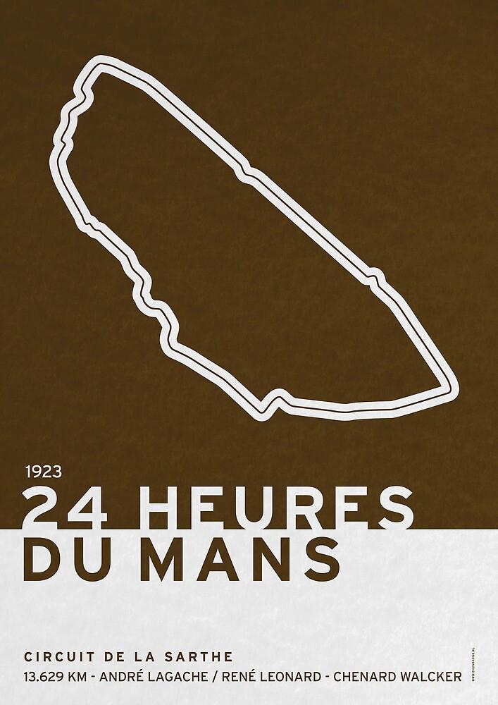 Legendary Races - 1923 24 Heures du Mans by Chungkong