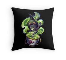 Tiny Little Troubles Throw Pillow