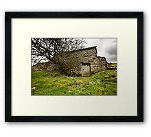 Uther's Shed Framed Print