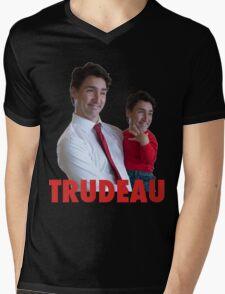 Justin Trudeau Galaxy Mens V-Neck T-Shirt