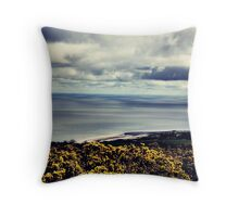 Wales, Abergele Coast Throw Pillow