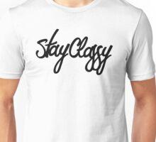 Stay Classy Script Unisex T-Shirt