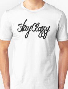 Stay Classy Script T-Shirt