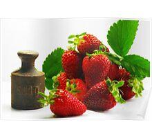 500g Erdbeeren Poster