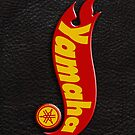 Yamaha hot wheels on leather by Benjamin Whealing
