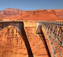 Navajo Bridge - 2 - Crossing Over  © by © Hany G. Jadaa © Prince John Photography