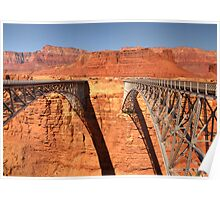 Navajo Bridge - 2 - Crossing Over  © Poster